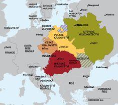 l'Europe Jagellonne à la fin du 15ème siècle