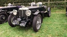 MG chilling out in the Goodwood revival parking
