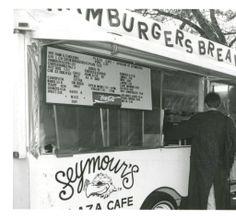 Seymour's Plaza Café in the 1990s.
