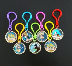 SING Bottle Cap Zipper Pulls SING Images SING by picturesweet