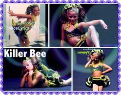 Killer Bee: Mackenzie Ziegler's solo. Credit to @StyleSpaceandStuff.Blogspot.com Moore