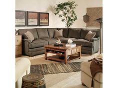 Century Furniture Cornerstone Sectional LTD7600 Sectional