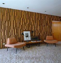 Kenaston House, 1957. E. Stewart Williams  That WALL.