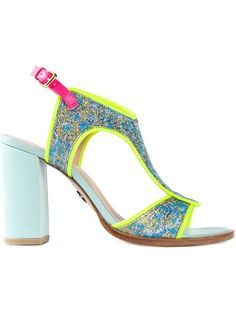 Shop Markus Lupfer brocade sandals in b Store from the world's best independent boutiques at farfetch.com. Shop 300 boutiques at one address.