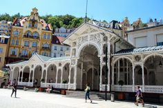 Market Colonnade (mineral water) - Karlovy Vary, Czech Republic