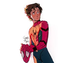 """""""My daddy always said you were his favorite superhero.""""🥺🥺 *starts to cry in background* ~~~~~~~~~~~~~~~~~~~~~~ Marvel Memes, Marvel Dc Comics, Marvel Avengers, Iron Man Marvel, Spiderman Kunst, Spiderman Anime, Spiderman Drawing, Character Art, Character Design"""