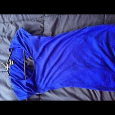 Blue size small Small Tops Tees - Short Sleeve