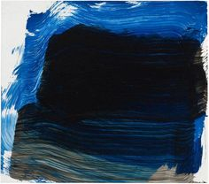 Howard Hodgkin, Night Falls 2014 - 2015 11 x 13 x Oil on wood Tachisme, Richard Diebenkorn, Jackson Pollock, Abstract Expressionism, Abstract Art, Howard Hodgkin, Tender Is The Night, Glasgow School Of Art, Colorful Paintings