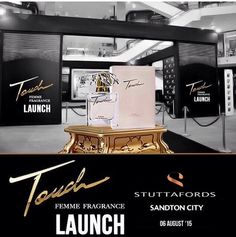 Touch Femme fragrance launches at Stuttafords stores on the August- It's A delightful oriental note to live life to the full, feel glamorous and exquisitely feminine. Live Life, Fragrances, Oriental, Product Launch, Feminine, Touch, Note, Feelings, Fragrance
