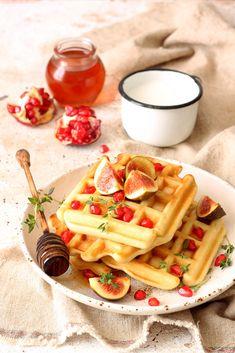 Вафли Food Photo, Food And Drink, Cheese, Meals, Breakfast, Cake, Sweet, Waffles, Morning Coffee