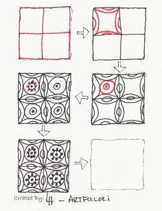 tangle patterns | Tangle Patterns - Artfulori