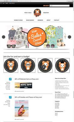 Bargain Bear Wordpress Site