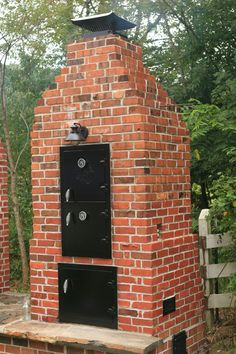 Brick smoker and pizza oven 2 in 1?