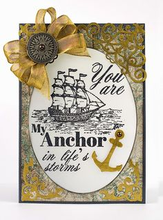 STAMP-PEDING My Way Through Life: My Anchor