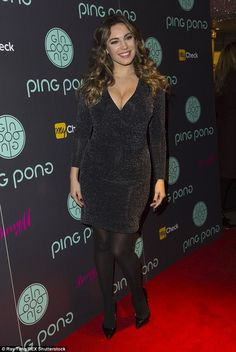 Hello boys! Kelly Brook put on a VERY busty display as she went along to the launch of the new Ping Pong restaurant at London's Westfield in Shepherd's Bush on Wednesday night