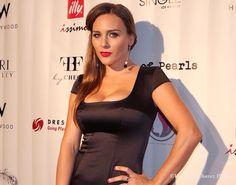 Designer Yana Tammah at Los Angeles Fashion Week SS2015