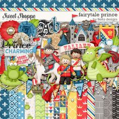FAIRYTALE PRINCE by Lliella Designs is a charming, magical prince kit to scrap your brave, valiant little princes! Available at Sweet Shoppe Designs http://www.sweetshoppedesigns.com/sweetshoppe/product.php?productid=26374&cat=0&page=1