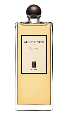 Serge Lutens - Rousse: TOP NOTES: Mandarin, orange; MIDDLE NOTES: Cinnamon, amber, clove; BASE NOTES: Musk, resins