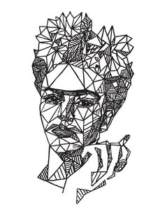 I want to embroider this frida on a tote