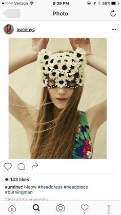❀ Flower Maiden Fantasy ❀ beautiful photography of women and flowers - floral mohawk. Beauty And Fashion, Kanzashi, It Goes On, Masquerade Ball, Beltane, Photography Women, Headgear, Mardi Gras, Headdress