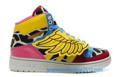 info for 60881 3bee2 Womens Jeremy Scott 2NE1 JS Wings Adidas Shoes 2012