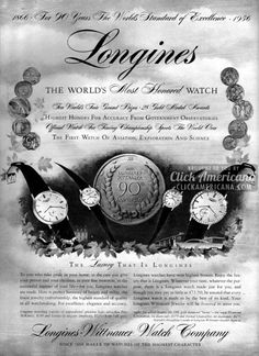 Cool Stuff We Like Here @ http://coolpile.com/tag/watches/ ------- << Original Comment >> ------- Longines