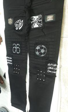 Communion Hairstyles, Jeans Pocket, Boys Jeans, Kardashian Style, Serif, Sweatpants, Embroidery, Kids, Design