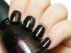 China Glaze Lubu Heels | Digit-Al Dozen Does It Again! Halloween | Toxic Vanity