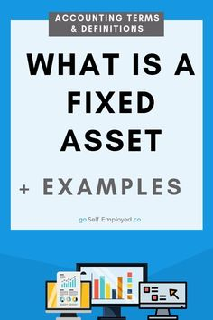 Fixed assets are items owned by a business used as part of business operations to generate income. Here's examples of a fixed asset. Finance Blog, Finance Tips, Data Logo, Fixed Asset, Managing Your Money, Seo Tips, About Uk, Personal Finance, Small Businesses