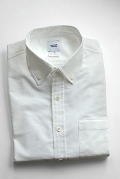 Men's Shirt - White Oxford STYLE by brooklyntailors $155