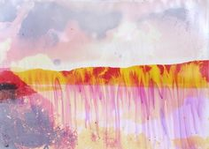 Los Angeles based photographer Matthew Brandt soaks his Photos in the specific lake or reservoir water that they represent. Contemporary Photography, Contemporary Landscape, Art Photography, Experimental, Colorful Abstract Art, Land Art, Psychedelic Art, Color Of Life, Landscape Photographers