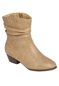 ab2fa8f4400238 These Wide Width Mimi Scrunch Bootie s are perfect for the changing season!   fall