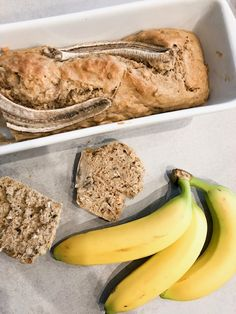 Banana bread healthy à la noisette - Comment j'ai changé de vie