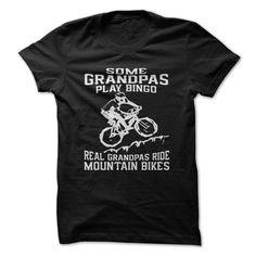 (Tshirt Deal Today) MTB Grandpa [Guys Tee, Lady Tee][Tshirt Best Selling]…