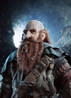 Drawing inspiration from the dwarves in the fantasy epic, 'The Hobbit', Brazilian digital artist Jorge PepeLife decided to do his own version of a dwarf. A