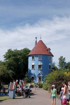 Naantali, Finland, Moomin Houses in Moomin World