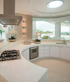 [New] The 10 Best Home Decor (with Pictures) - Circle kitchen design idea . Home Room Design, Dream Home Design, Modern House Design, Home Interior Design, Room Interior, Dream House Interior, Luxury Homes Dream Houses, Luxury Kitchen Design, Dream Rooms