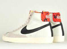 Nike Blazer Vendange Haute Sang Rouge