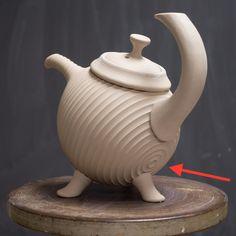 I hope you had a good Thanksgiving. Here's a new teapot. . #teapot #ceramics #pottery #clay #contemporaryceramics #wheelthrown #handmade #stoneware #greenware #workinprogress #wip #artsatmit