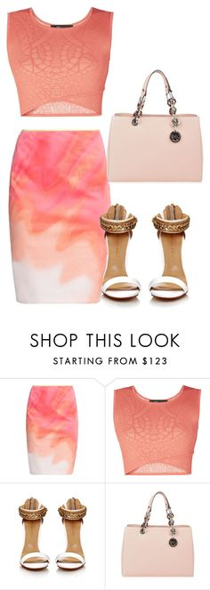 """Untitled #306"" by vannessa-cmlv on Polyvore featuring Elie Tahari, BCBGMAXAZRIA and MICHAEL Michael Kors"