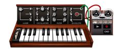 Google Doodle for 78th of Robert Moog's Birthday - Passionate about Sound