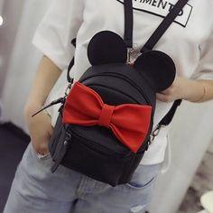 8c98026b2a6d Animals bow sweet ears mini backpack