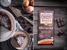 Υγρό κέικ σοκολάτας - madameginger.com Acai Bowl, Food And Drink, Dairy, Cheese, Breakfast, Desserts, Food Food, Leo, Acai Berry Bowl