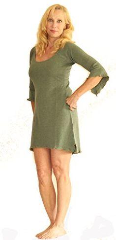 MinaWear Women's Tunic Dress Organic Hemp and Cotton Organic Cotton, Tunic, Casual, T Shirt, Stuff To Buy, Dresses, Women, Fashion, Supreme T Shirt