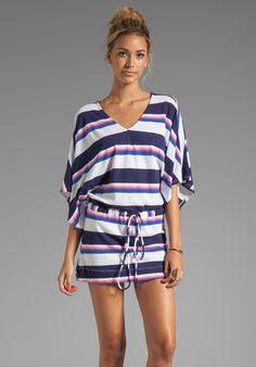 Bobi Color Block Stripe Dress    I love this!!