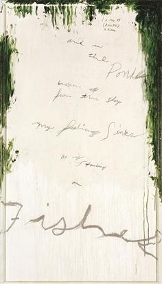 Untitled Part I - Cy Twombly