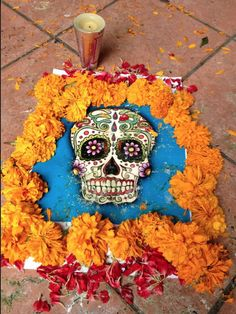 Day of the Dead art in Mexico