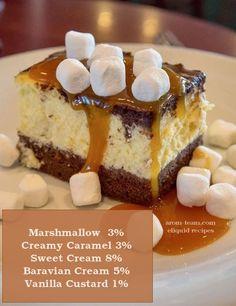 Marshmallow cheesecake eliquid recipe - L'équilibre d'un cheesecake caramel associé à la douceur du marshmallow dans un eliquide à tomber ! #vape #diy #eliquid