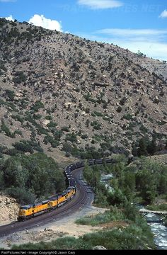 RailPictures.Net Photo: UP8161 Union Pacific EMD SD9043MAC at Helper, Utah by Jason Cary