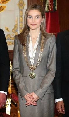 King Felipe and Queen Letizia are currently in Morocco for a two- day official visit